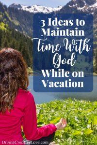 prayer on vacation