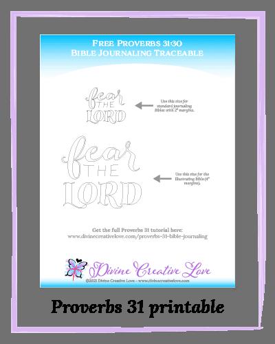 Proverbs 31 printable