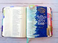 Bible journaling ideas - Psalm 19
