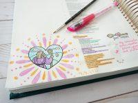 cute Bible journaling ideas - Psalm 23