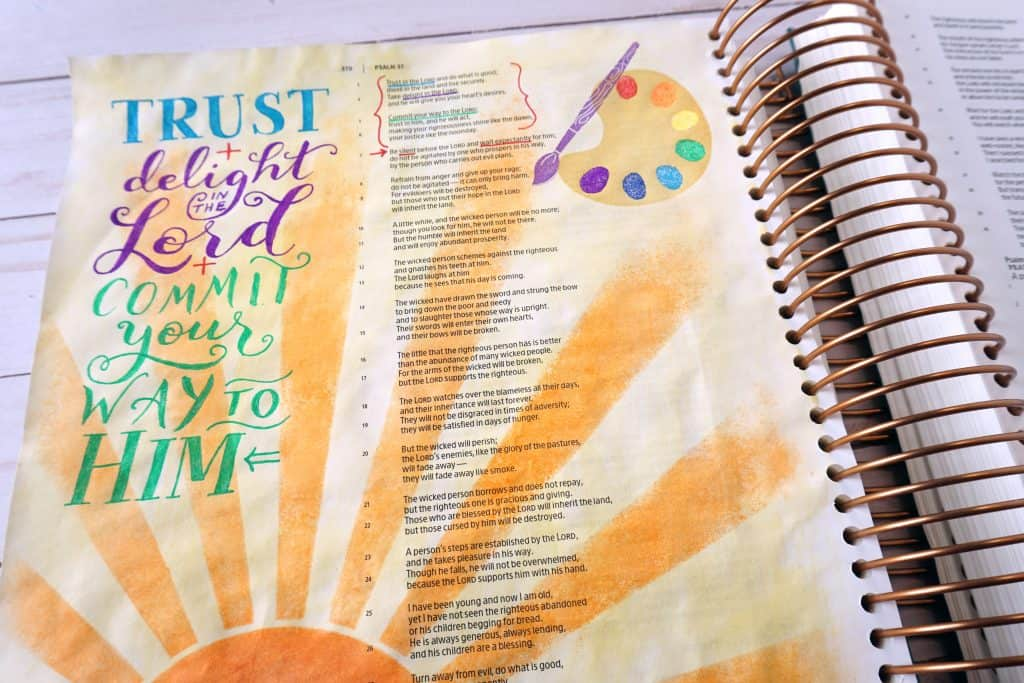 Psalm 37 - commit to the Lord