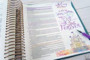 Bible journaling Revelation 21-22