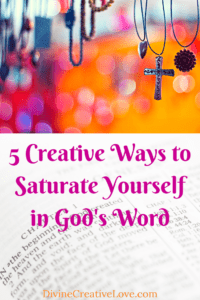 Saturate Yourself in God's Word