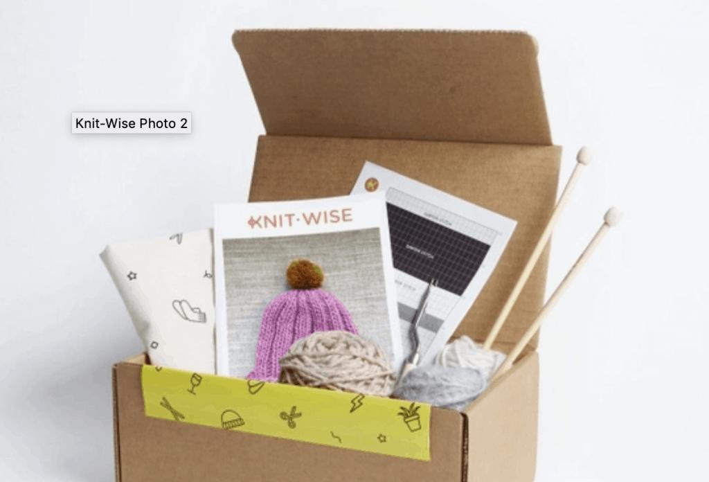Knit-Wise Box
