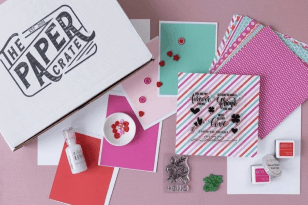 The Paper Crate card making box