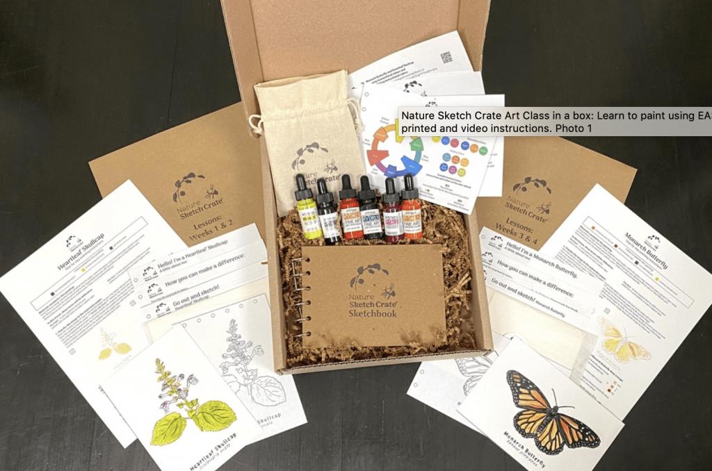 Nature Sketch Crate