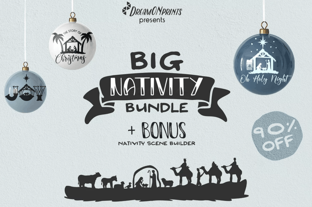 Big Nativity Bundle from Design Bundles