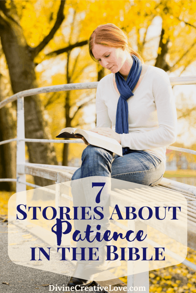 stories about patience in the Bible