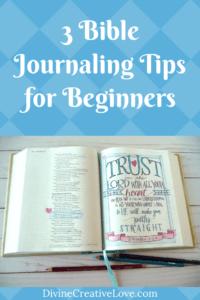 Bible Journaling for Beginners