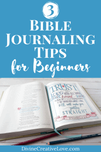 how to start Bible journaling for beginners