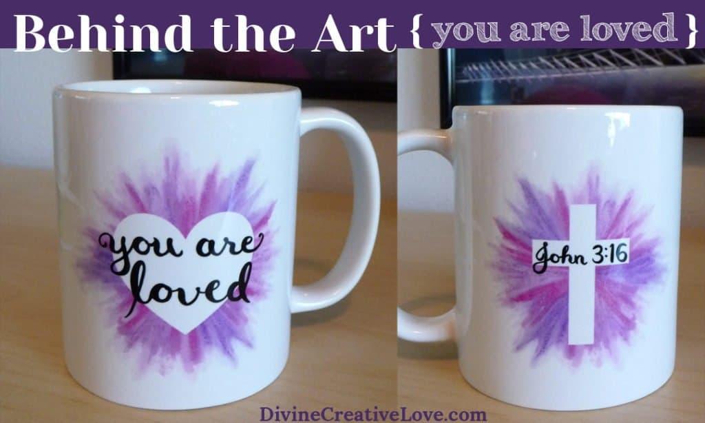 John 3:16 art coffee mug
