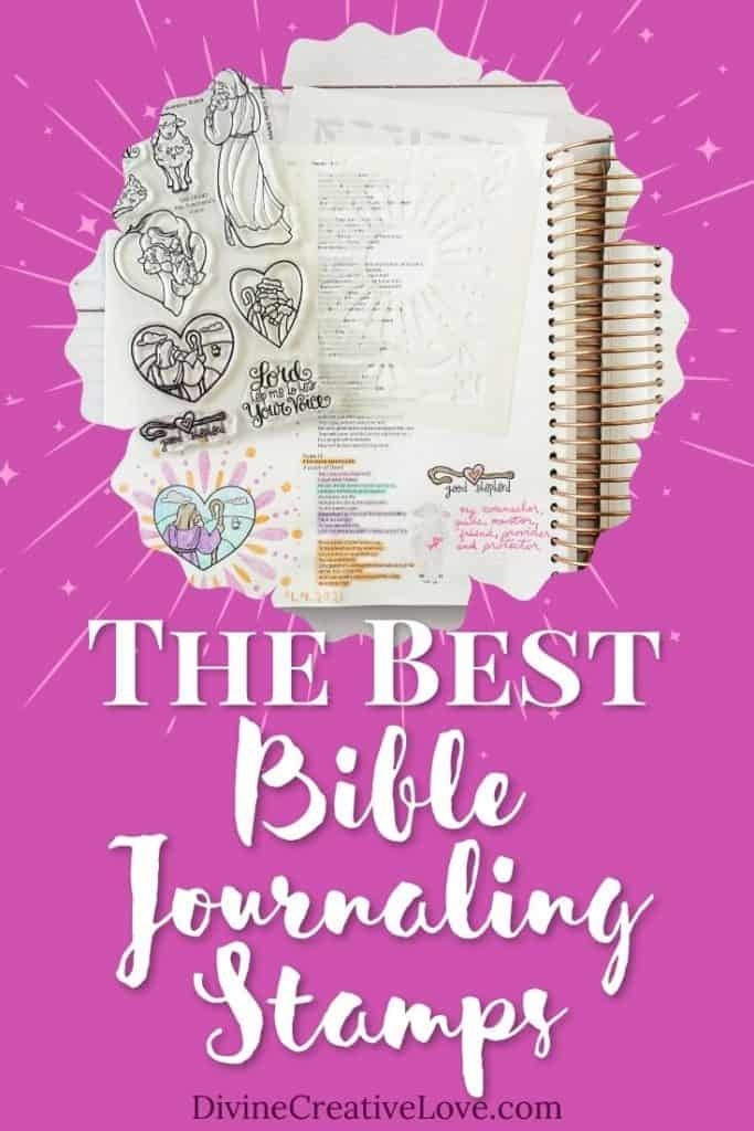 the best Bible journaling stamps