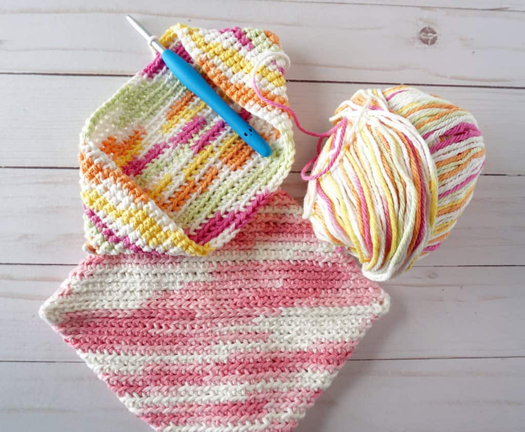 crochet potholders - great craft ideas