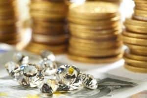 money gems riches