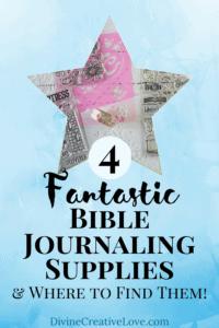 Bible journaling supplies for beginners