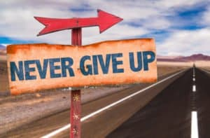 Bible verses about not giving up