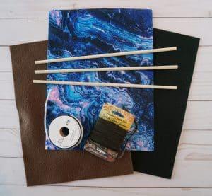 DIY pin banner supplies
