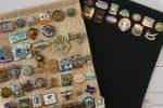 enamel pin display banners