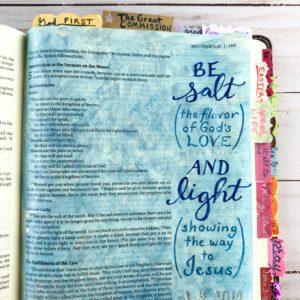 salt and light Bible journal