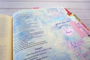 Psalm 86:11 Bible journaling