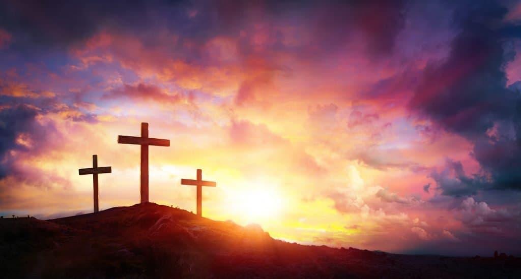 crosses at Calvary