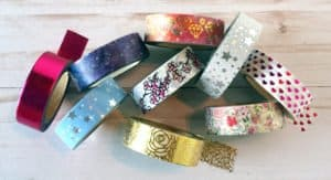 Bible art journaling supplies - washi tape